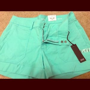 Women's shorts- size 30/10 teal green
